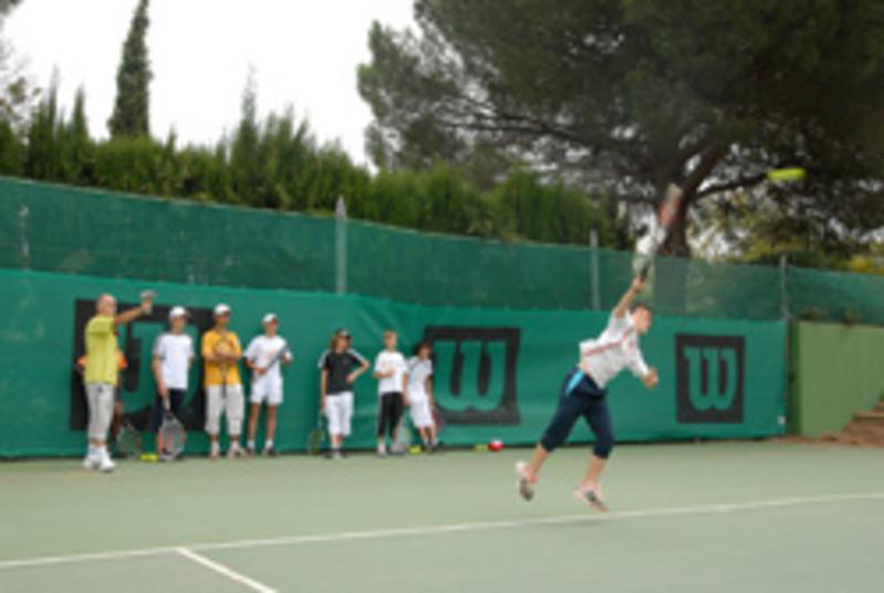 best service 2df04 ea01d Redécouvrons un site unique en Europe le Centre International de Tennis du Cap  d Agde